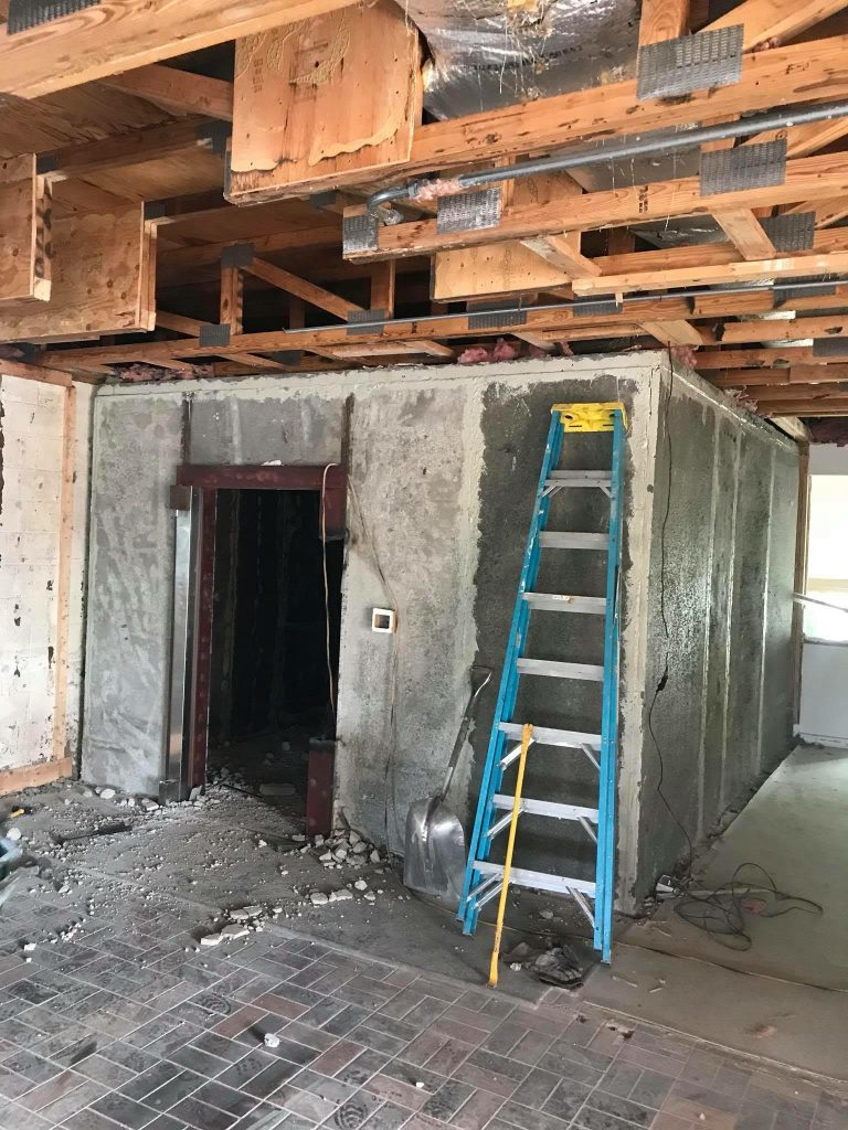 Bank Safe Vault Removal